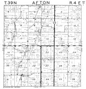 Afton Township, Elva, McGirr, DeKalb County 1947